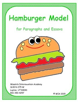Hamburger Model - Paragraphs and Essays
