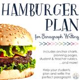 Hamburger Paragraph Planning Packet