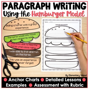 Hamburger Paragraph Writing Packet