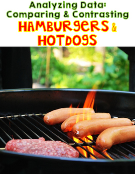 Hamburgers and Hotdogs Comparison Diagram and Comprehensio