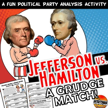 Hamilton VS Jefferson Opposition Grudge Match Common Core
