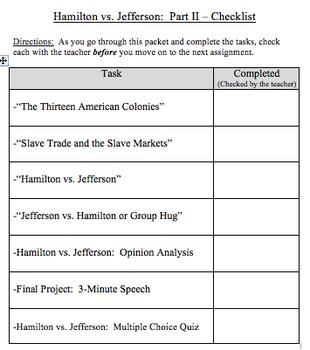Hamilton vs Jefferson - Part 2