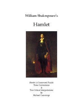 Hamlet: A Crossword Puzzle, Some Conventions and Two Criti