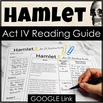 Hamlet Act IV Study Guide for Increased Reading Comprehens