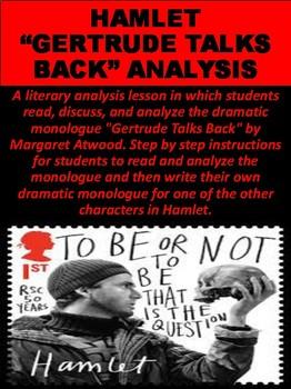 "Hamlet ""Gertrude Talks Back"" Analysis"