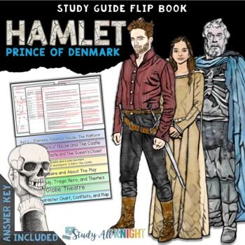 HAMLET PRINCE OF DENMARK READING LITERATURE GUIDE FLIP BOOK