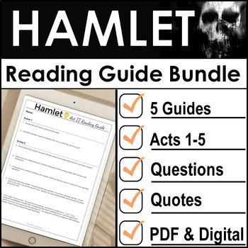 Hamlet Complete Reading Guide Bundle