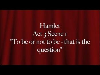 Hamlet Soliloquy Parody ~ Juxtaposition