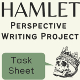 Hamlet Summative Assessment Project on Perspective GRASPS