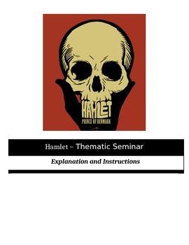 Socratic Seminar - Hamlet - Common Core Aligned