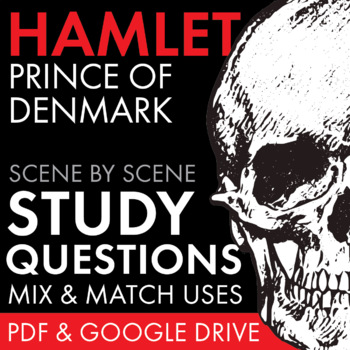 Hamlet, Worksheets Quizzes Discussion & HW for William Sha