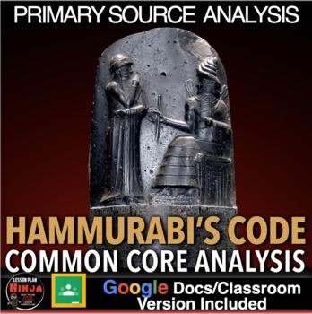 Hammurabi's Code Primary Source Analysis (Code of Hammurabi)