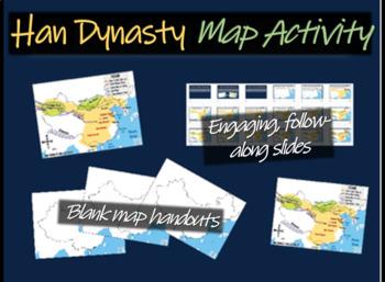 Han Dynasty/Great Wall/Silk Road (CHINA) Map Activity: fol