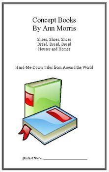 Hand Me Down Tales: Ann Morris Concept Books (Week 6) Week