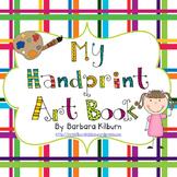 Hand Print Art Book