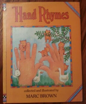 Hand Rhymes Hardcover Book by Marc Brown