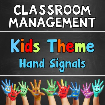 Hand Signals Kids Theme Customizable