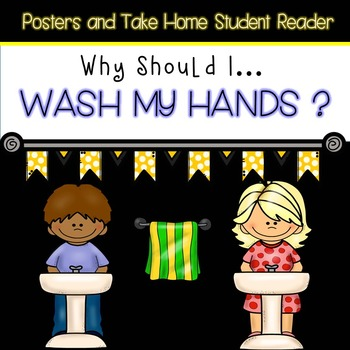 Hand Washing Packet (Emergent reader/posters)