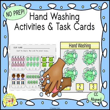Hand Washing Worksheets Activities Games Printables and More