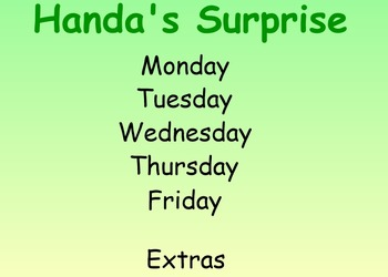 Handa's Surprise Guided Reading Weekly Lessons - Four Bloc
