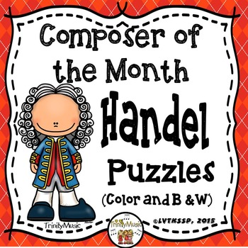 Handel Puzzles (Composer of the Month)