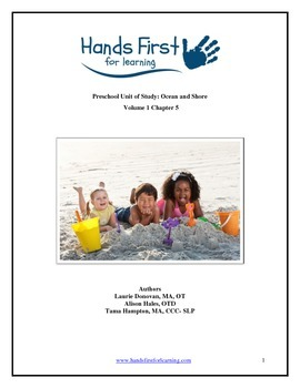 Hands First for Learning Preschool Unit of Study: Ocean and Shore