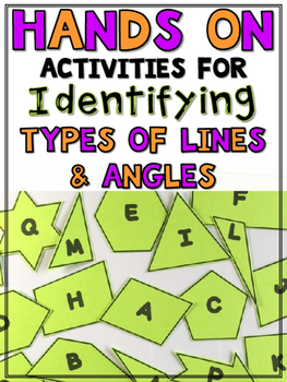 Types of Lines & Angles (ACUTE, OBTUSE, RIGHT, PERPENDICUL