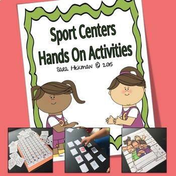 Sports Hands On Math Centers
