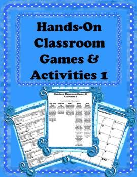 Hands-On Classroom Games & Activities 1