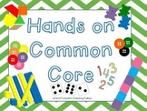 Hands On Common Core Math Centers
