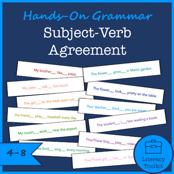 Hands-On Grammar Subject-Verb Agreement