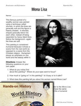 Hands-On History--Renaissance and Reformation (eLesson)