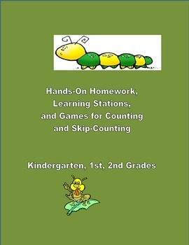Hands-On Homework, Centers, Games for Counting and Skip-Co
