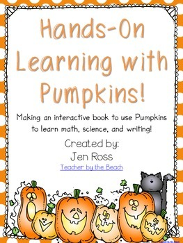 Hands-On Learning with Pumpkins {Math, Science, & Writing}