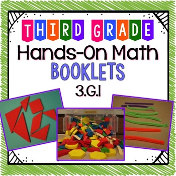 Hands-On Math Booklet 3.G.1 {Geometry}