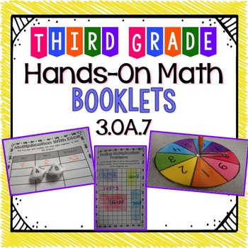 Hands-On Math Booklet 3.OA.7 {Multiplication Facts}