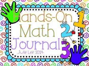 Hands-On Math Journal