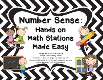 Hands-On Math Stations Made Easy: Number Sense