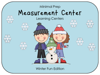 Hands On Measurement Center - Winter Fun (1 SET)