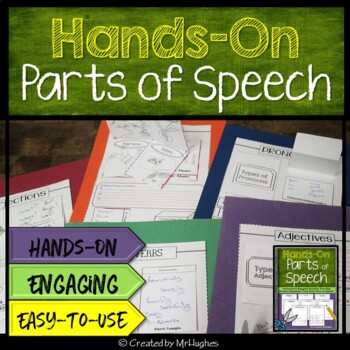 Parts of Speech - Basic Set {Hands-On Interactive Notebook}