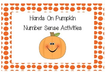 Hands On Pumpkin Math Activities