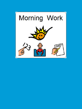 Hands-on Morning Work book