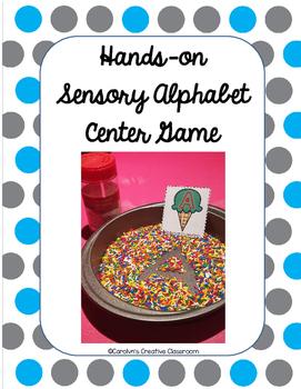 Hands-on Sensory Alphabet Center