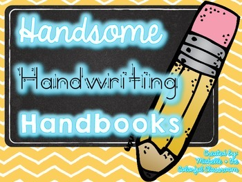 Handsome Handwriting Handbooks {Manuscript Handwriting Practice}