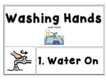 Handwashing Visual Task Schedule