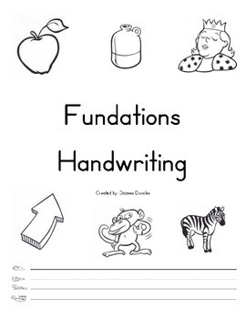 Handwriting A to D