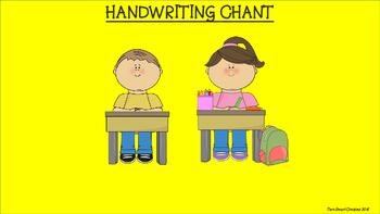 Handwriting Chant