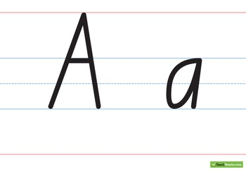 Handwriting Charts – Capital & Lower Case - Australian Cap
