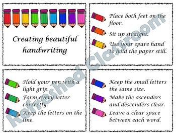 Handwriting Display