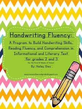 Handwriting Fluency: Common Core Based Literacy Skills for